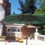 چتر پایه وسط ویلای اقای اسمعیلی در شهریار (4)