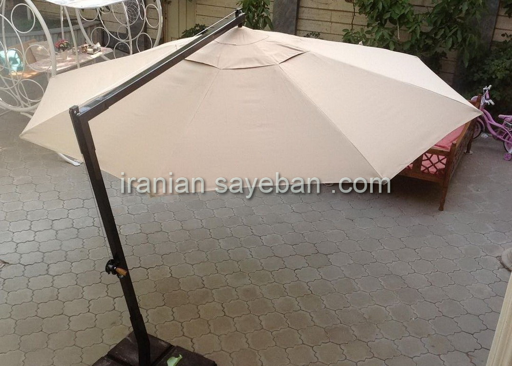 چتر باغی پایه کنار